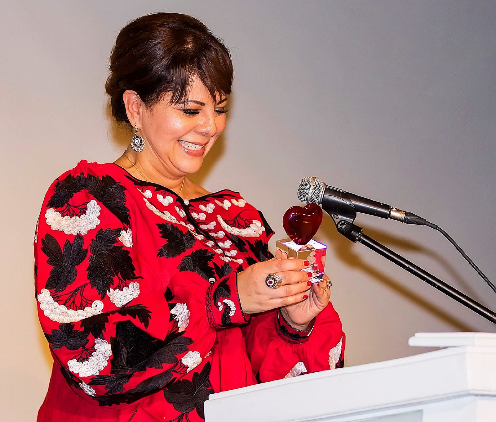 2017 Corazón Award Honoree, Fayruz Benyousef