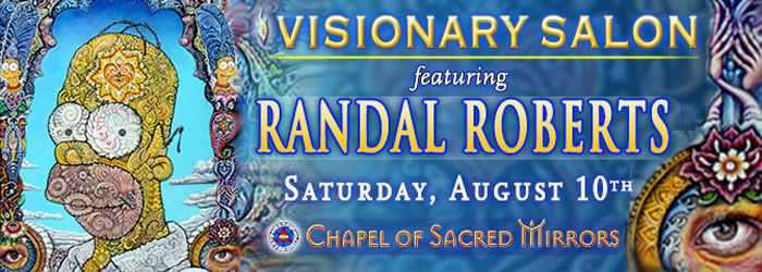 Visionary salon and workshop with randal roberts chapel for A visionary salon