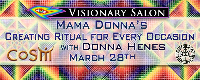 Visionary salon with donna henes creating ritual for for A visionary salon