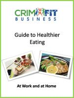 CrimFit Business Guide to Healthier Eating