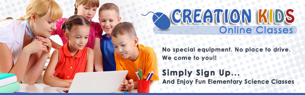 Creation Kids: Online Classes