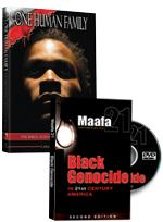 One Human Family & Black Genocide DVD