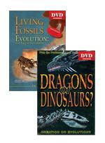 Dinosaurs and Fossils DVD