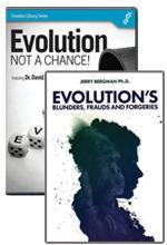 Evolution's Fraud Book & DVD Offer