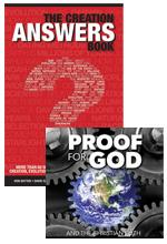 Answers Book and Proof for God DVD