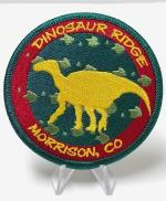 Iguanodon and Tracks Patch