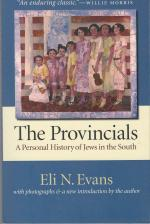 The Provincials: A Personal History of Jews in the