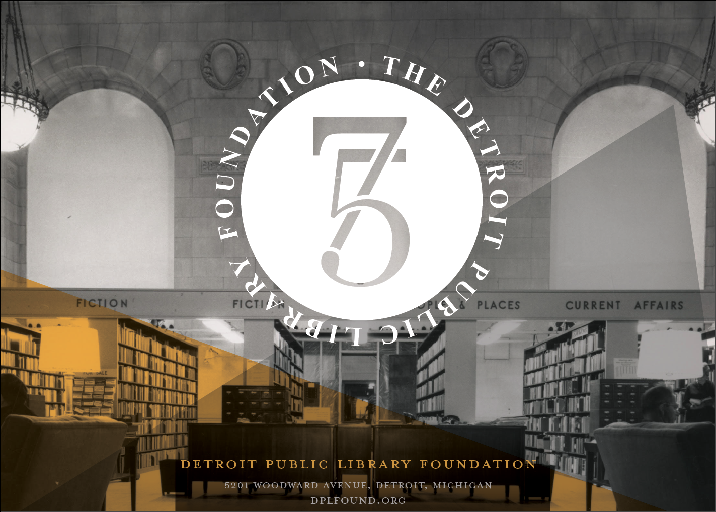 Detroit Public Library Foundation 75th Anniversary Fund