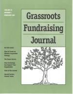 Grassroots Fundraising Journal- Vol. 20 No. 1- Back Issue