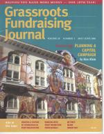 Grassroots Fundraising Journal- Vol. 20 No. 3- Back Issue