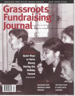 Grassroots Fundraising Journal- Vol. 20 No. 6- Back Issue