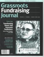 Grassroots Fundraising Journal- Vol. 21 No. 2- Back Issue
