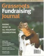 Grassroots Fundraising Journal- Vol. 21 No. 5- Back Issue