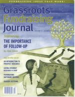 Grassroots Fundraising Journal- Vol. 22 No. 1- Back Issue