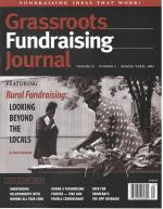 Grassroots Fundraising Journal- Vol. 22 No. 2- Back Issue
