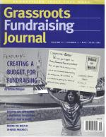 Grassroots Fundraising Journal- Vol. 22 No. 3- Back Issue