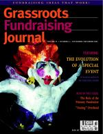 Grassroots Fundraising Journal- Vol. 22 No. 6- Back Issue