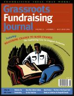 Grassroots Fundraising Journal- Vol. 23 No. 3- Back Issue