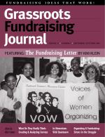 Grassroots Fundraising Journal- Vol. 23 No. 5- Back Issue
