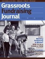 Grassroots Fundraising Journal- Vol. 24 No. 3- Back Issue