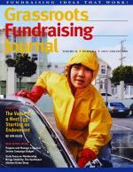 Grassroots Fundraising Journal- Vol. 24 No. 4- Back Issue