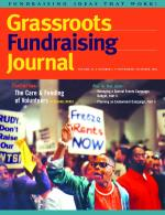 Grassroots Fundraising Journal- Vol. 24 No. 5- Back Issue