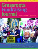 Grassroots Fundraising Journal- Vol. 25 No. 3- Back Issue