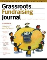 Grassroots Fundraising Journal- Vol. 25 No. 5- Back Issue