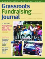 Grassroots Fundraising Journal- Vol. 26 No. 3- Back Issue
