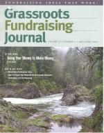 Grassroots Fundraising Journal- Vol. 27 No. 3- Back Issue