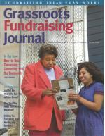 Grassroots Fundraising Journal - Vol. 27 No. 4 - Back Issue