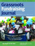 Grassroots Fundraising Journal-Vol. 27 No. 5-Back Issue