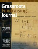 Grassroots Fundraising Journal-Vol. 28 No. 2 -Back Issue