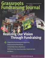 Grassroots Fundraising Journal- Vol. 28 No. 6- Back Issue