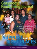 Grassroots Fundraising Journal- Vol. 29 No. 1- Back Issue