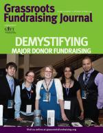 Grassroots Fundraising Journal- Vol. 29 No. 5- Back Issue