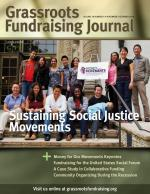 Grassroots Fundraising Journal- Vol. 29 No. 6 - Back Issue