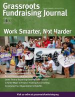 Grassroots Fundraising Journal- Vol. 30 No. 4 Work Smarter, Not Harder