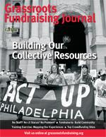 Grassroots Fundraising Journal Vol 30 No 6 Building Our Collective Resources PRINT edition