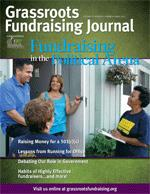 Grassroots Fundraising Journal v31 n2, Fundraising in the Political Arena PRINT EDITION