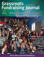 Grassroots Fundraising Journal v31 n3, More People + More Fun = More Money. PRINT EDITION