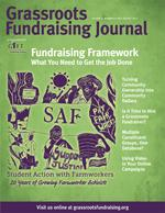 July August 2012 Grassroots Fundraising Journal: Fundraising Framework: What You Need to Get the Job Done PRINT EDITION