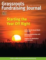 Staring the Year Off Right Jan-Feb 2015 Grassroots Fundraising Journal DIGITAL EDITION