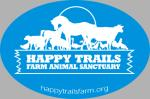 Happy Trails Logo Decal - Blue