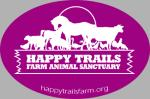 Happy Trails Logo Decal - Fuscia