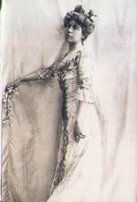 Post Card – Margaret Brown in Her Ball Gown