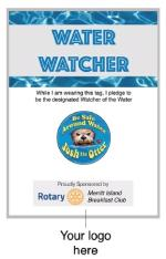 Josh the Otter Water Watcher Tag