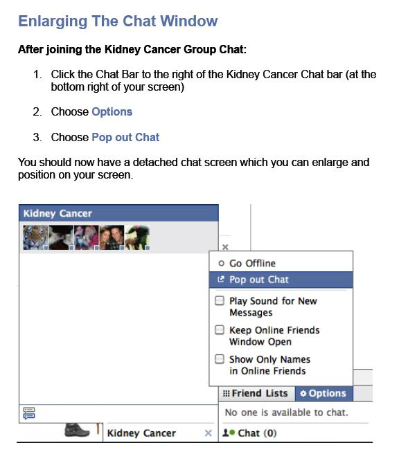 How to enlarge the Facebook Chat window