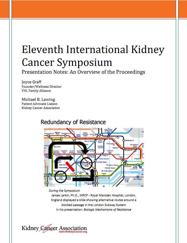 Kidney Cancer Symposim Summary