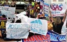 Photo courtesy of United Students Against Sweatshops